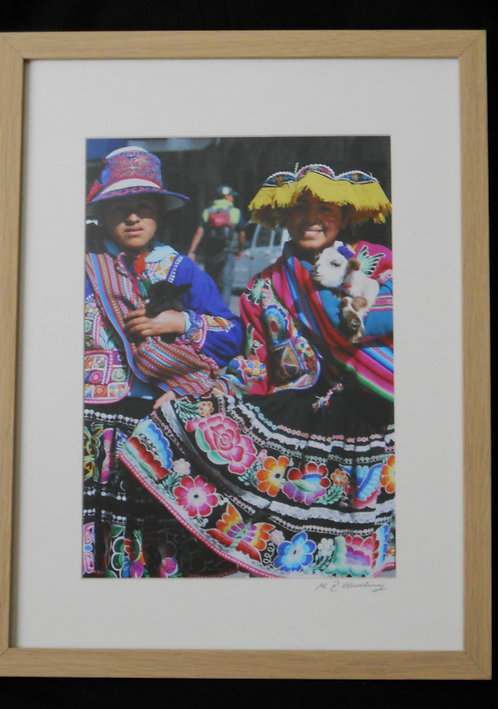 Locals in Traditional Dress, Peru. ©MDHarding
