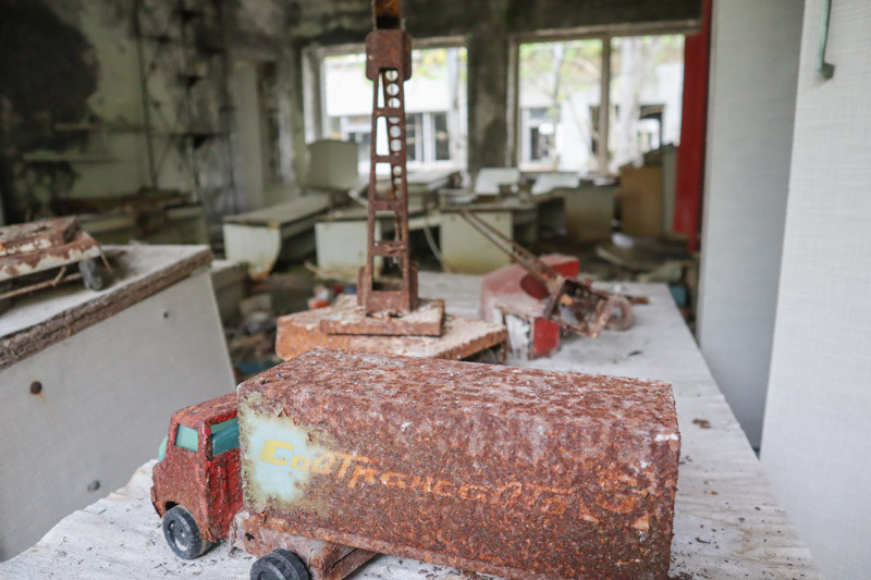Pripyat Kindergarten Toy ©Two Scots Abroad