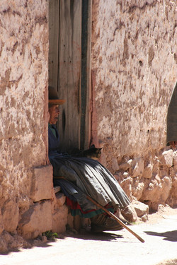 ©MDHarding Native Lady of Peru