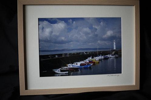 Granton Harbour, Edinburgh. ©MDHarding
