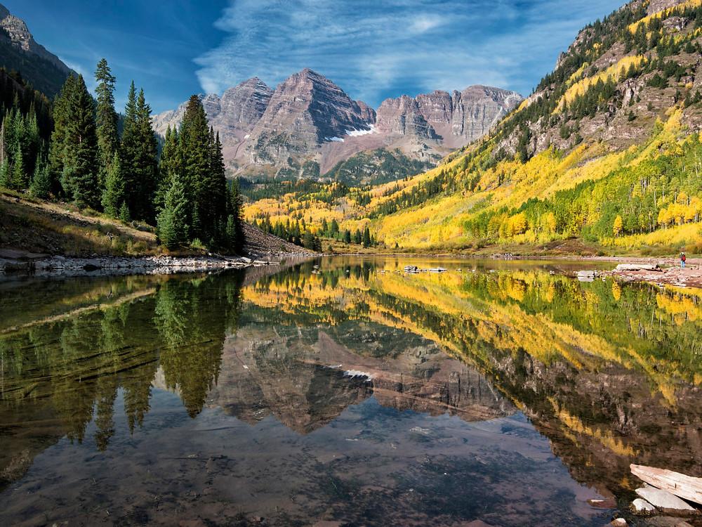 Maroon Creek, Aspen, Colorado, USA