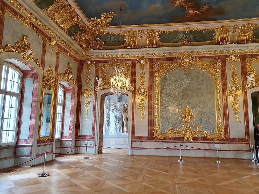 Inside Rundale Palace ©Kerry Kubilius