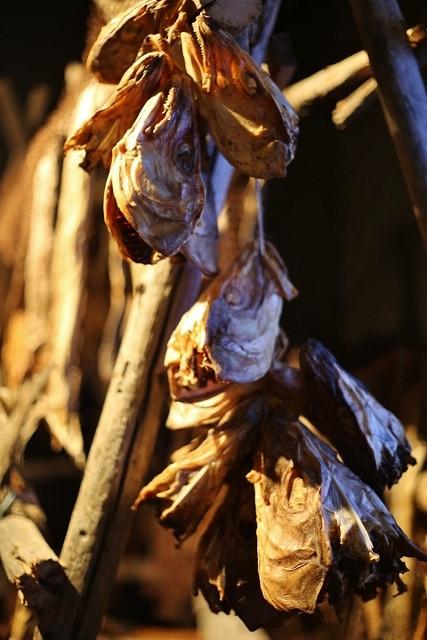 Salt Dried Preserved Fish in Norway