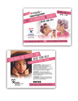 CASA Willowbrook Day of Beauty Postcards