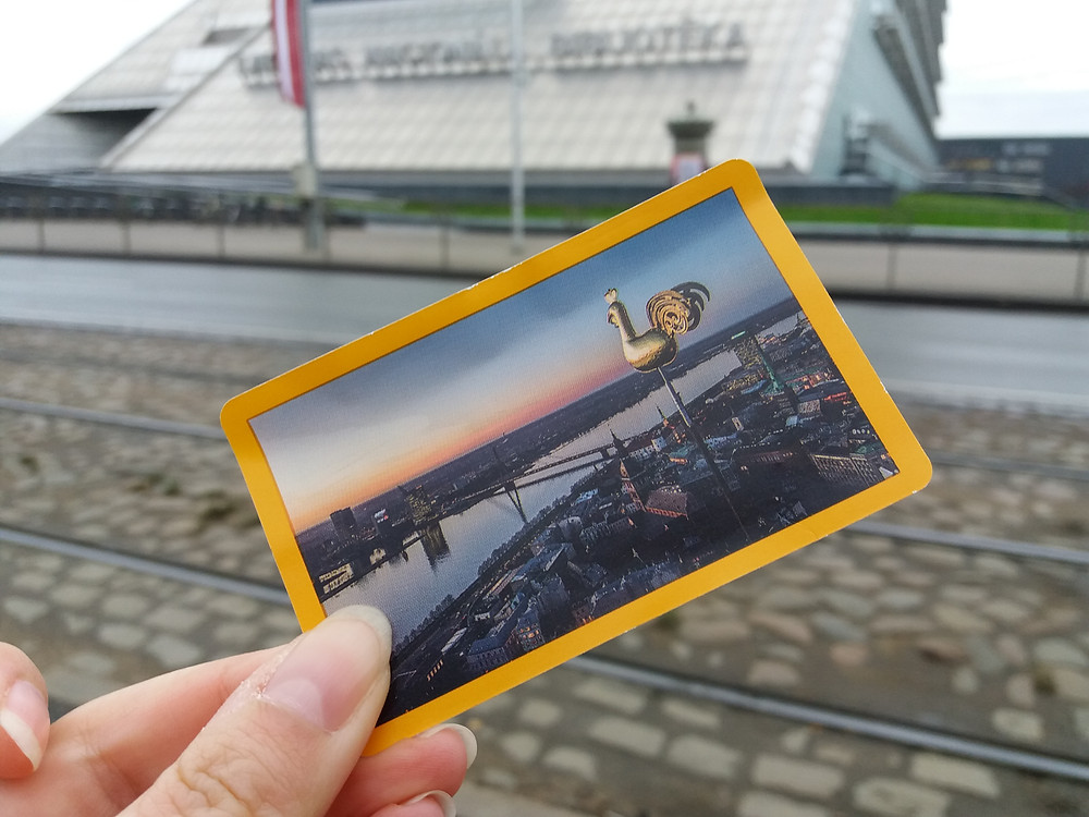 Local Public Transport Card, Riga, Latvia ©MDHarding