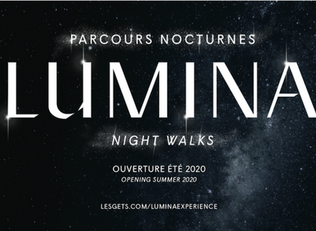 Europe's First Ever Lumina Night Walk