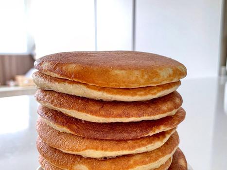 Buttered Oat Sourdough Pancake