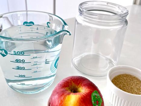 Building Apple Yeast Water