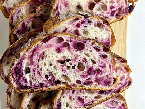 Purple Sweet Potato Sourdough