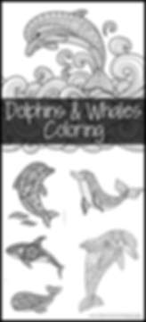 Dolphins and Whales Coloring Pages.png