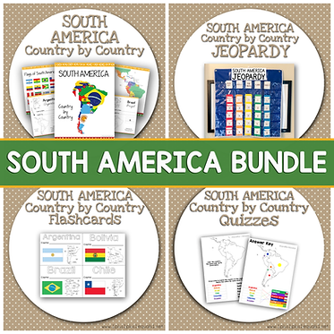 SOUTH AMERICA Bundle