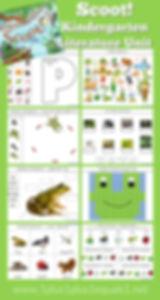 Scoot Pond Theme Kindergarten Literature