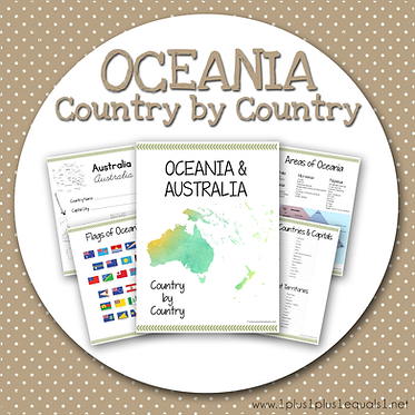 OCEANIA Country by Country