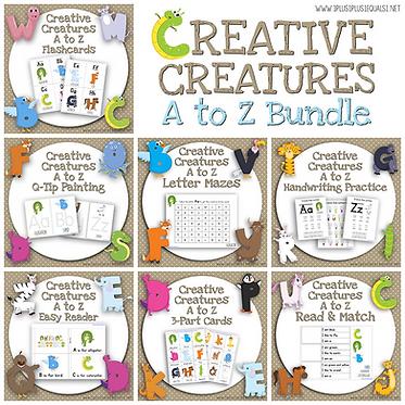 Creative Creatures A to Z Bundle