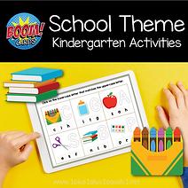 BOOM Back to School Theme Kindergarten Activities.png