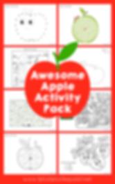 Apple Theme Activity Pack Free Printable