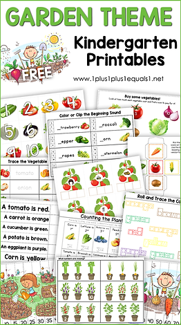 Garden Theme Kindergarten Printables.png