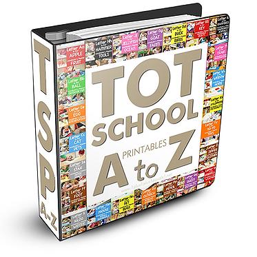 Tot School Printables Bundle