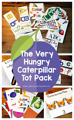 The Very Hungry Caterpillar Tot  Pack.pn