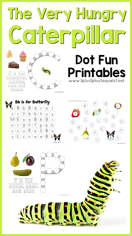 The Very Hungry Caterpillar Dot Fun Prin