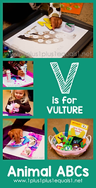 V is for Vulture Animal ABCs.png