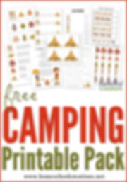 Camping-printable-pack-for-preschool-and