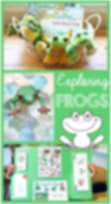 Exploring Frogs Unit Study and Lapbook.j