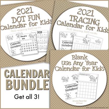 2020-2021 Calendar Bundle