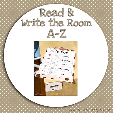 Read & Write the Room A to Z