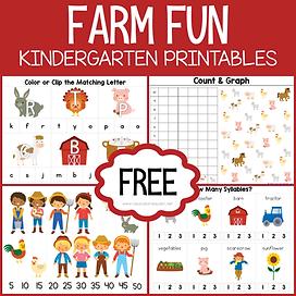 Farm Fun Kindergarten Printable Pack.png