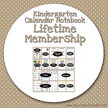 Kindergarten Monthly Calendar Notebook Lifetime Membership.png