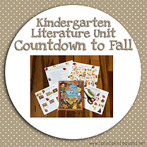 Kindergarten Literature Unit Countdown to Fall.png
