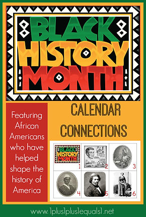 Black History Calendar Connections Print