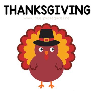 Thanksgiving Theme Printables and Ideas