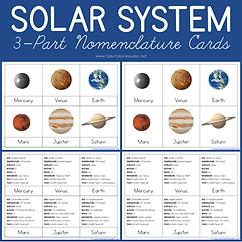 Solar System 3 Part Nomenclature Cards.p