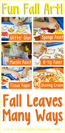 Fun Fall Art ~ Fall leaves Many Ways.jpg