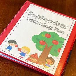 September Kindergarten No Prep Activity Pack