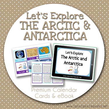 Let's Explore The Arctic & Antarctica Bundle