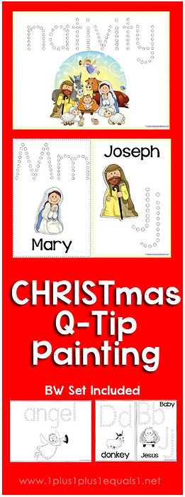 Christmas Nativity Q-Tip Painting .jpg