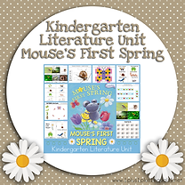 Kindergarten Literature Unit Mouse's First Spring.png