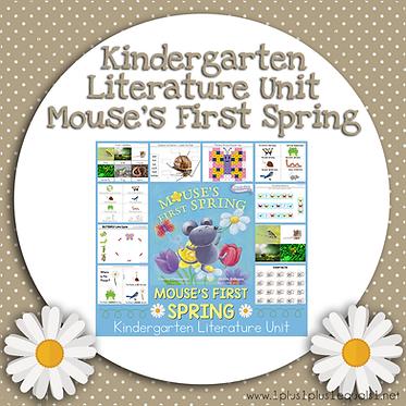 Mouse's First Spring Kindergarten Literature Unit