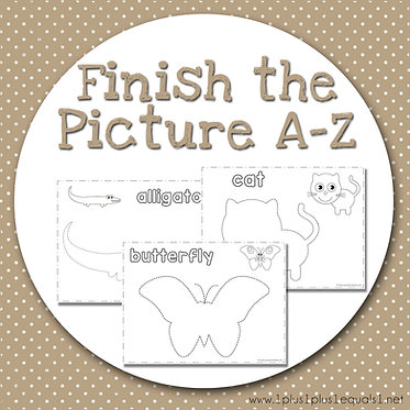 Finish the Picture A to Z