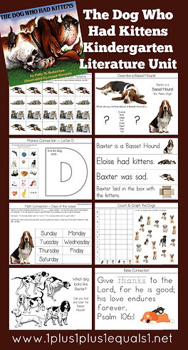 The Dog Who Had Kittens Kindergarten Literature Unit Printables.jpg