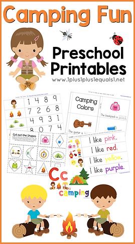 Camping Fun Preschool Printables.png