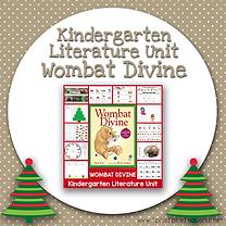 Kindergarten Literature Unit Wombat Divine.png