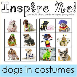 Inspire Me Story Starters Dogs in Costum