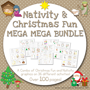 Christmas Fun & Nativity MEGA MEGA Bundle