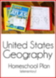 United States Geography Homeschool Plan