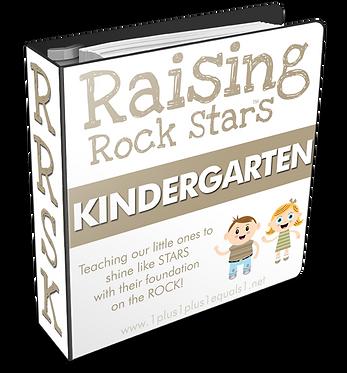 Raising Rock Stars Kindergarten GROUP USE