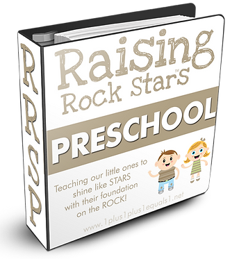 Raising Rock Stars Preschool GROUP USE